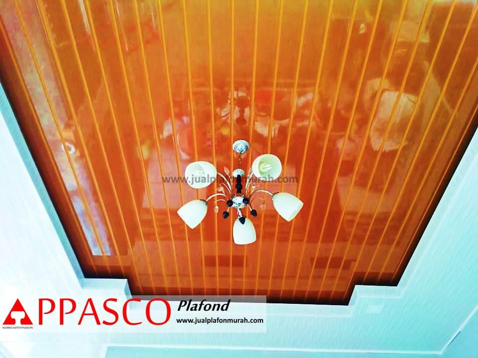Desain Plafon PVC Minimalis Modern yang sering digunakan