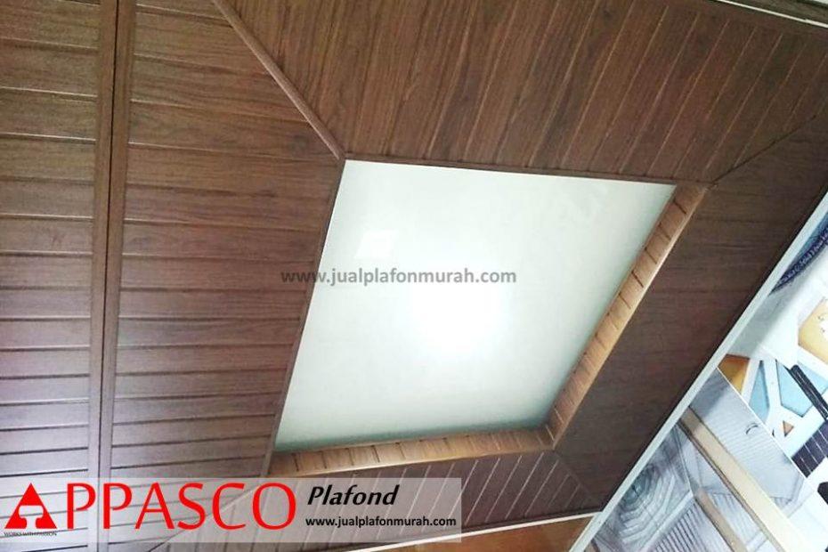 Plafon Minimalis Kayu Model Baki Untuk Ruang Tamu Jasa