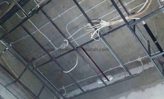 rangka atap plafon