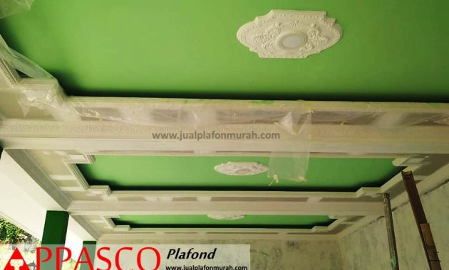 Plafon Gypsum Minimalis Modern